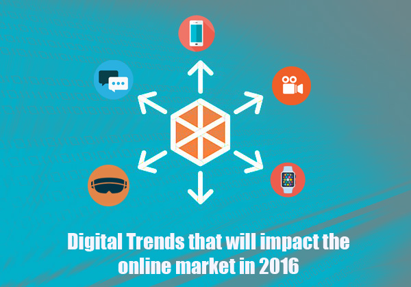 Digital Trends that will impact the online market in 2016